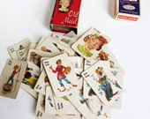 Lot of Vintage Playing Cards and Old Maid Cards