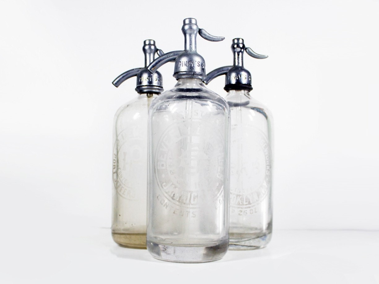 Vintage Seltzer Bottle 31
