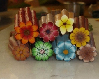Polymer Clay Tutorial Backgroundless Flower Cane