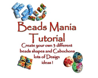 Polymer Clay Tutorial - The Beads Mania, learn to create different polymer clay beads