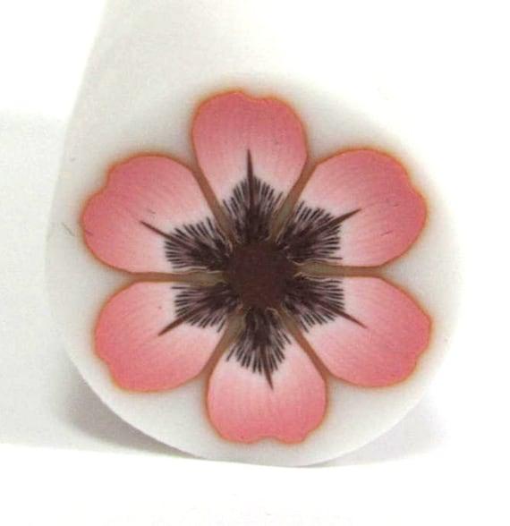 Polymer Clay  Millefiori Antique Pink Daisy Flower cane
