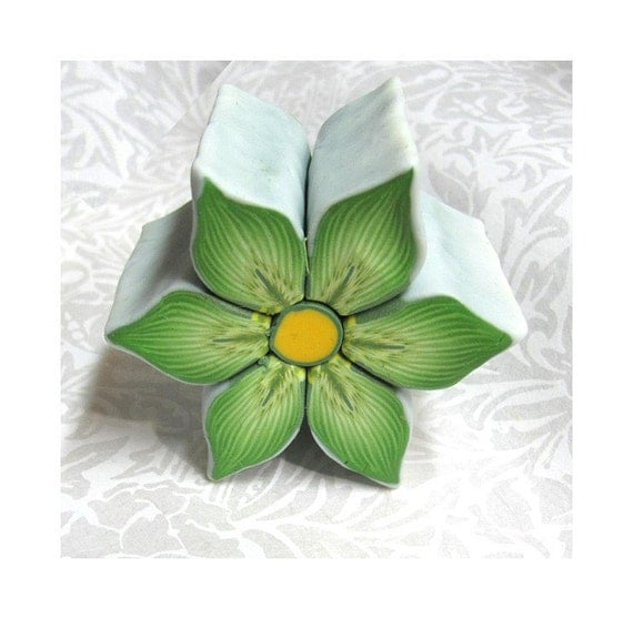 Clay Flowers Tutorials: Items Similar To Polymer Clay Tutorial