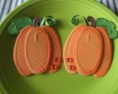 Fall Halloween Pumpkin Embellishments SALE