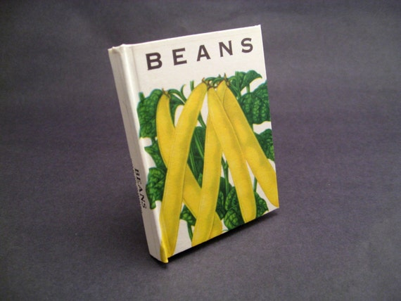 Petite Journal - Beans Seed Packet