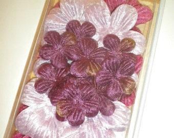 Velvet Flowers by 7 Gypsies Purple Eggplant