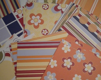 Cabana Collection 6x6 paper pack by 3 Bugs in a Rug 36 sheets
