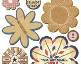 Via Air Mail Paper Whimsies by Sassafras Lass