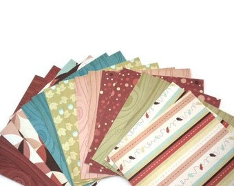 Fall 6x6 Nutmeg Collection Paper Pack by Cosmo Cricket 16 Sheets