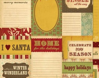 Oh Joy Journal Cards by Cosmo Cricket 2 packs - makes 18 enbellishments