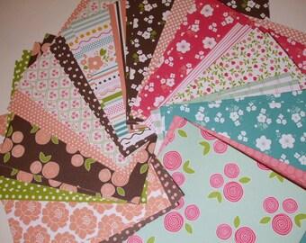 6x6 paper pack FLORAL LANE by Pebbles Inc  36 Sheets