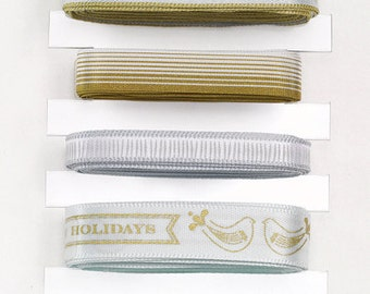 Golden Woodland Ribbon Pack by Martha Stewart EK Success