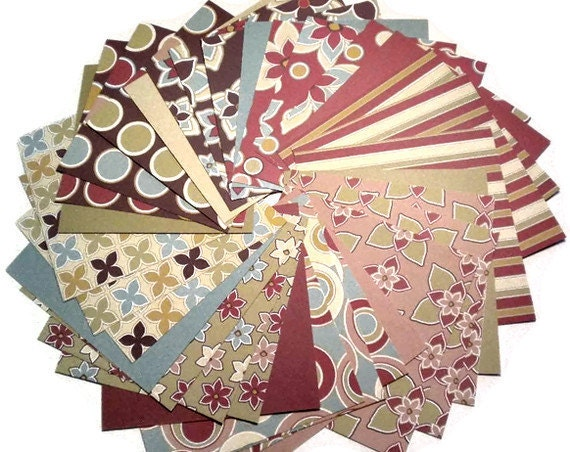 Cardstock Paper Pack 6x6 COTTON SHOP by 3 Bugs in a Rug 32 sheets