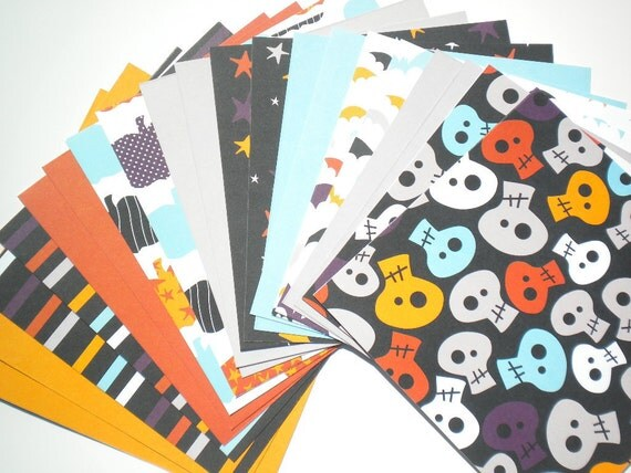 Halloween 6x6 Paper Pack by American Crafts 20 Sheets