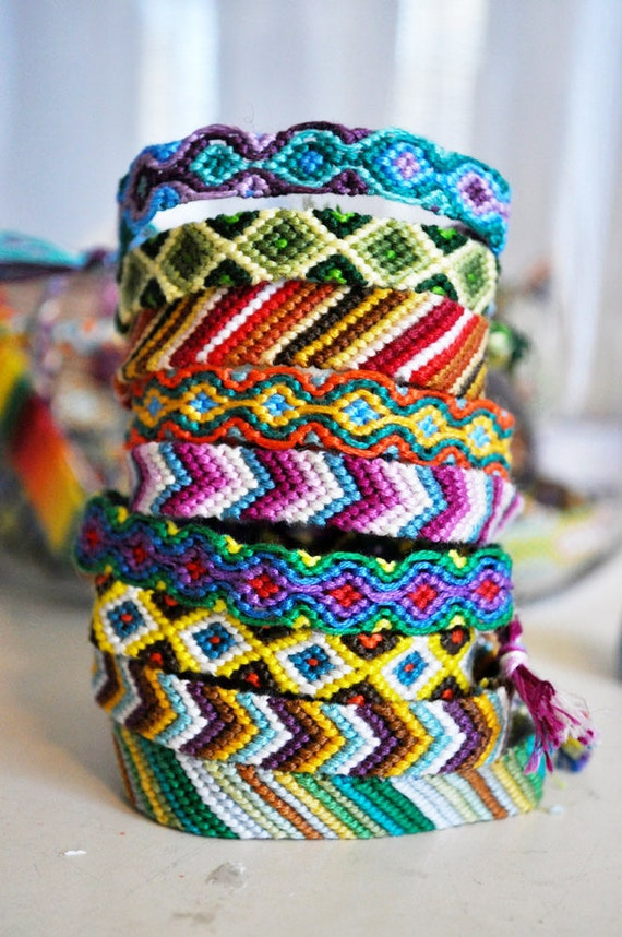 friendship bracelets - made to order