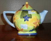 Oneida Ceramic Tea Pot