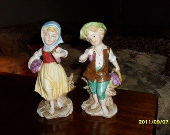 Set of Lefton Figurines