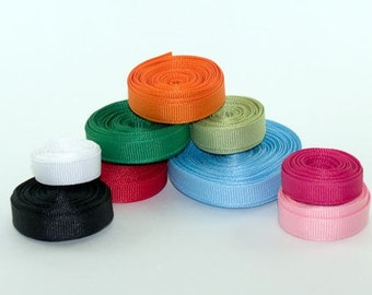 3/8 inch Offray Grosgrain Ribbon, Clearance price .15 per yard