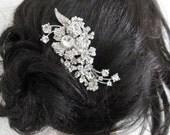 Wedding hair jewelry bridal hair comb 1920's wedding accessories bridal hair jewelry wedding hair comb bridal accessories wedding hairpiece