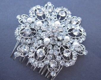 bridal hair jewelry wedding hair accessories bridal hair comb 1920's wedding headpiece bridal jewelry wedding hair comb bridal comb