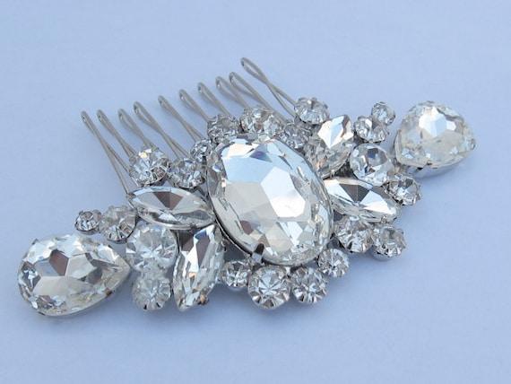 Bridal rhinestone hair comb,wedding hair accessories, bridal hair comb crystal, wedding comb,bridal, wedding hair comb