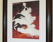 Custom Pet Portrait on Canvas 8X10 SALE