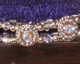 Crystal Stretch Cuff Bracelet