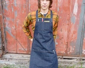 Woodworker's Apron // Work Apron // Unisex // One size fits most