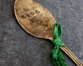 Kiss Me I'm Irish Vintage Spoon