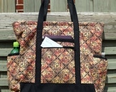 Large Fabric Travel Tote