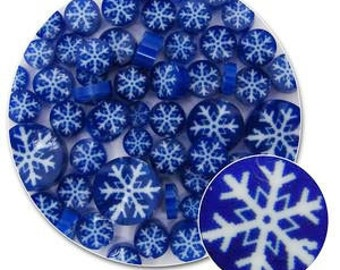 Snowflakes Millefiori - 90 Coe
