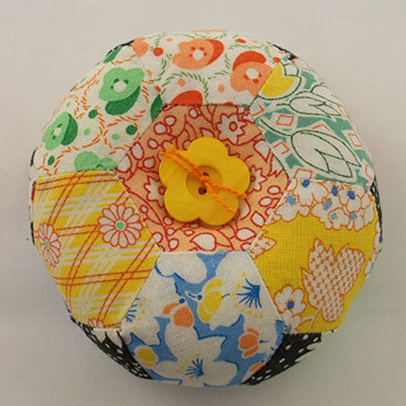 Hexagon Patchwork Pin Cushion