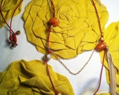 spiced licorice organic necklace
