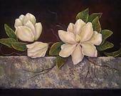 TUTORIAL: Painting Magnolias In Acrylic