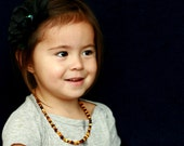 Baltic Amber Teething Necklace - Tiger Mix