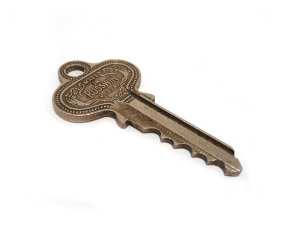 Vintage Apartment Key Russwin Key Apartment 13 By