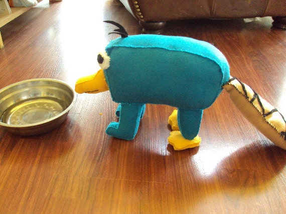 Perry The Platypus As A Baby In A Diaper