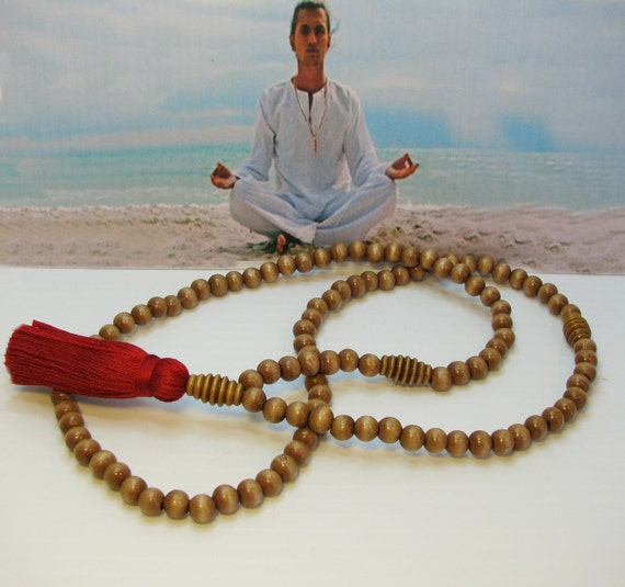 Mala Meditation Necklace, 108 Bead Mala