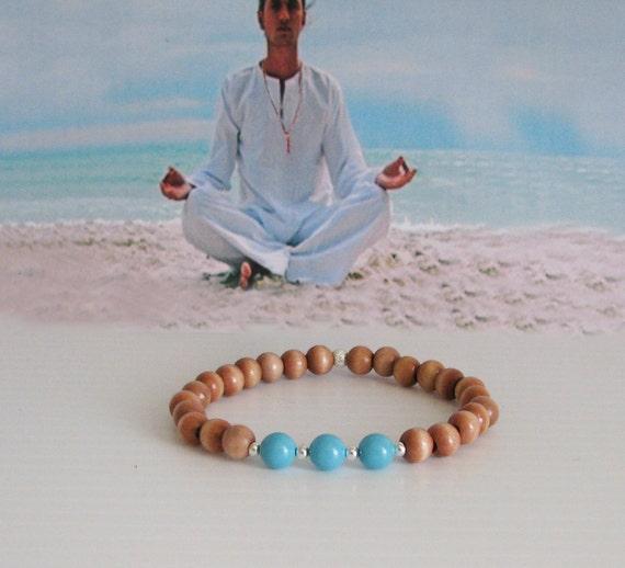 Wrist Mala  Meditation Bracelet, 27 Bead Meditation Bracelet, Focus Jewelry, Yoga Jewelry