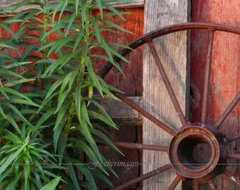 Rusty Wheel Fine Art Photography