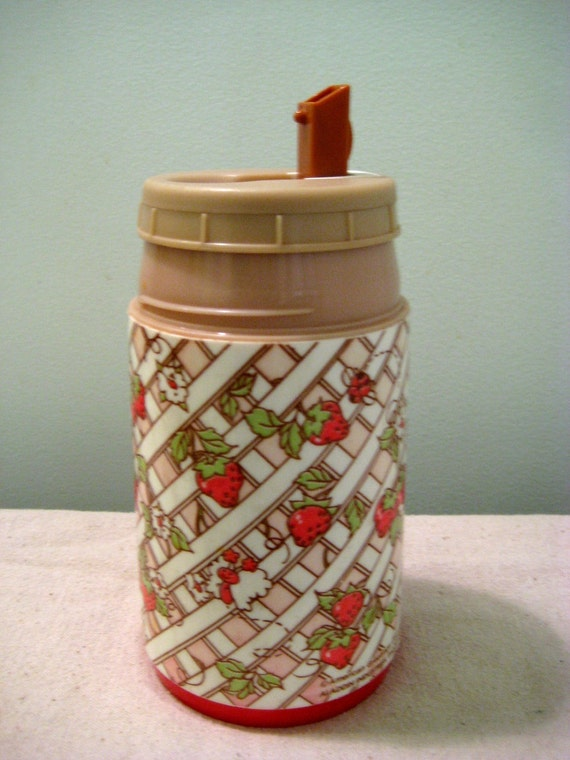 Vintage Strawberry Shortcake Thermos