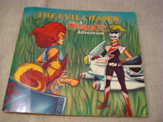 Vintage Thundercats Book The Evil Chaser