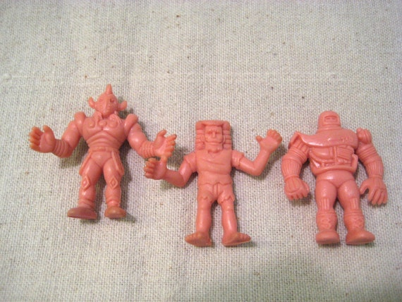 Vintage Muscle Men figures PVC toys