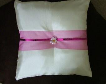 ring bearer pillow custom made