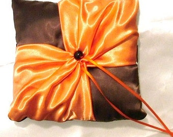 custom made any 2 colors you choose satin ring bearer pillow