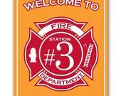 Firetruck Theme - Signs