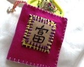 Make your forture and Travel with your Character Needle Book (character means Wealthy)