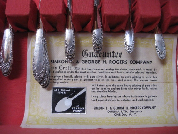 Simeon L & George H Rogers Co Oneida ltd Flatware
