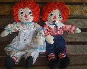 Raggety Dolls