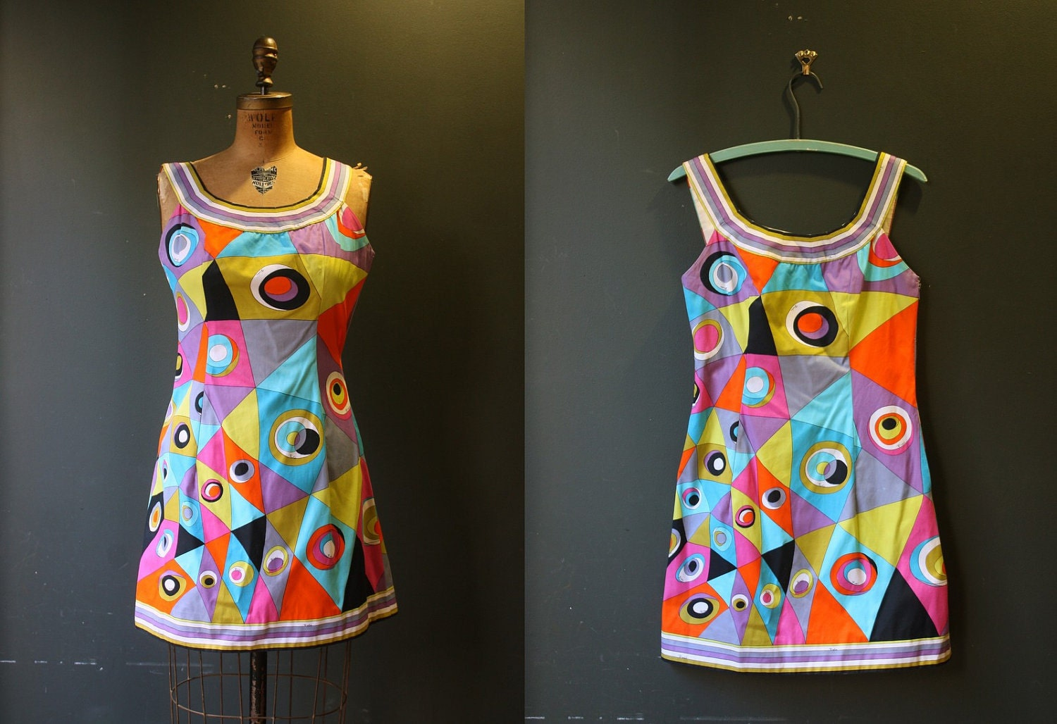 Pucci Dress / Vintage 1960s Mini Dress / by thesilklaundry