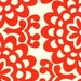 Amy Butler Fabric - Wall Flower in Cherry 1 Yard